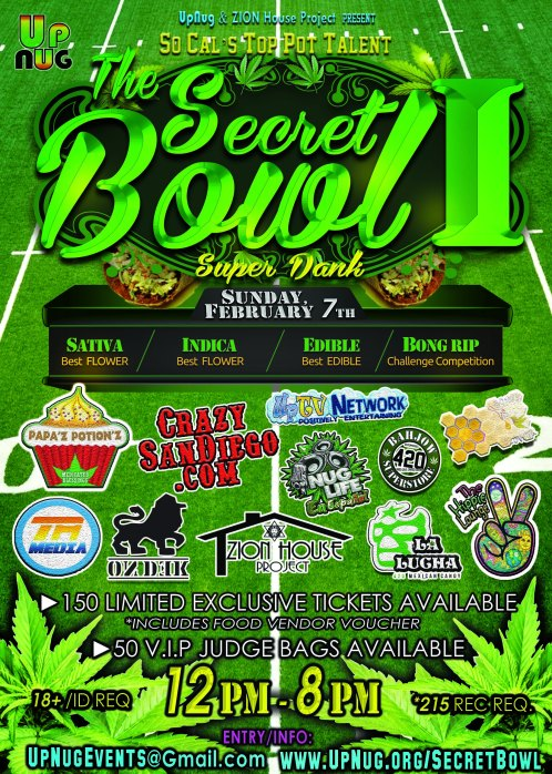 Secret Bowl I Poster Vendors