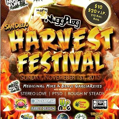 Sundays,  November 1st, 2015.#SdHarvestFest #UpNug