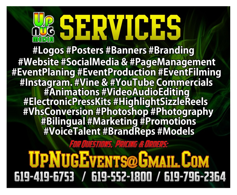 UpNug Media Services Info Graphic