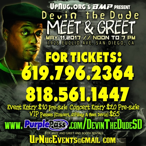 Ticket Phone Nulbers - Devin The Dude M and G - IG Indy - Copy