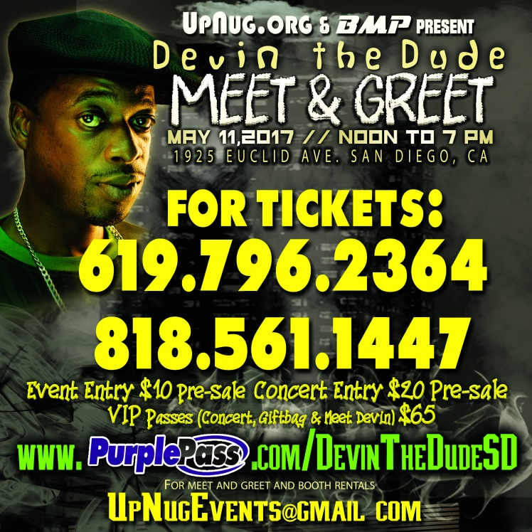 Devin the dude meet greet 511 upnug ticket phone nulbers devin the dude m and g ig indy copy m4hsunfo